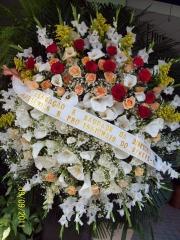 Coroa de flores sinepe . anos de parceria