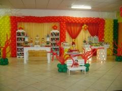 Decoração festa infantil - provençal turma da mônica