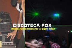 Festa discoteca fox - bolivia