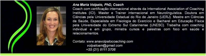 Coaching em Saúde, Coaching de Vida e Carreira - www.anavolpatocoaching.com
