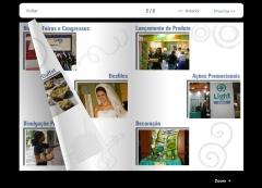 Catálogos, revistas, folders e encartes digitais em 3d na internet