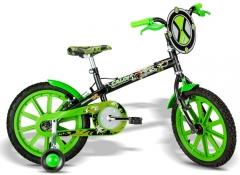 Bicicleta caloi ben 10 aro 16
