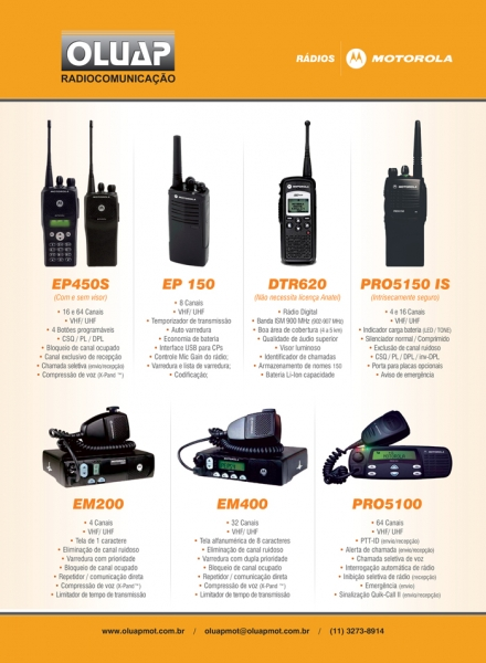 Rádios Motorola