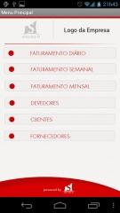 Tela menu principal - solutio it mobile - protheus x android