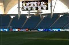 Painel de led cria excelentes efeitos visuais para publicidade em vídeo interior e exterior