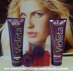 Kit matizador violeta biocale