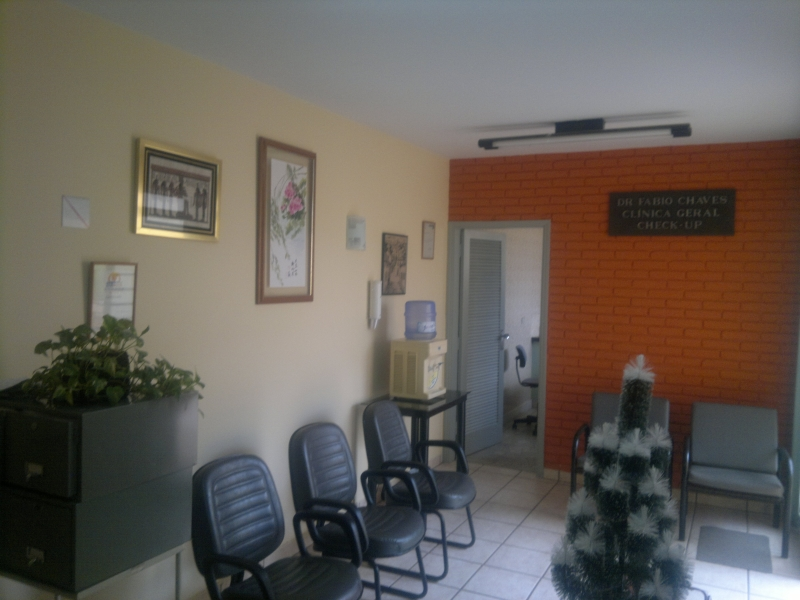 Sala de espera - Clínica Odontológica Vale do Paraíba