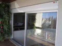Residencial porta de vidro
