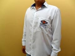 Camisa social masculina em microfibra