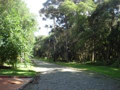 Rua interna do residencial o recanto ii - bosques residenciais - piraquara/pr