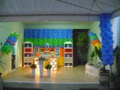 Decoração festa infantil - provençal galinha pintadinha
