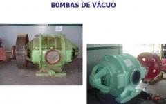 Manutenção de bombas de vácuo.