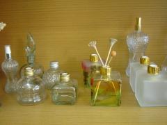 Diversos vidros para difusor de ess�ncia.