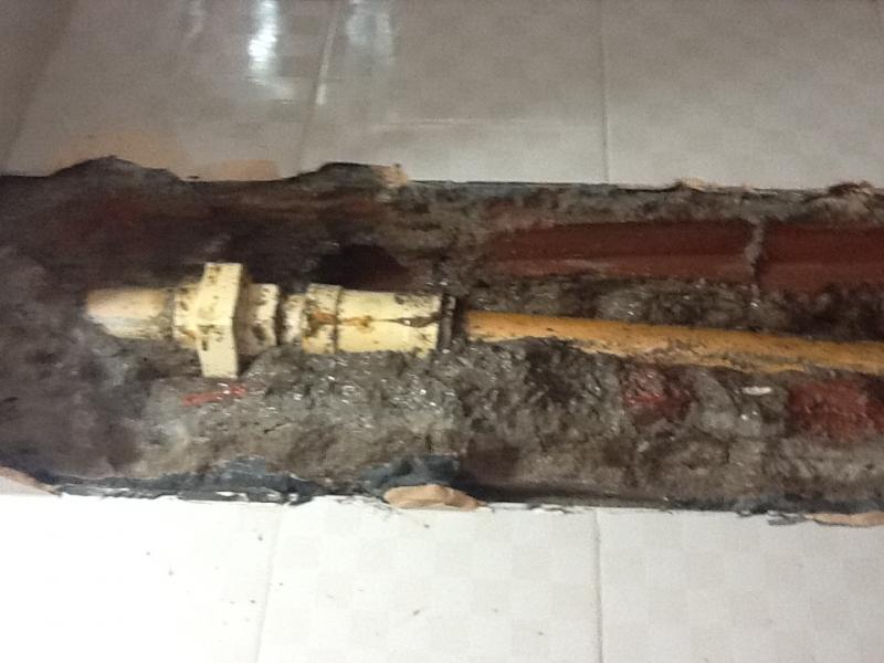tubo    danificados