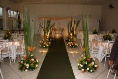 Decoração de casamento direto no salão