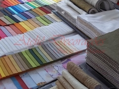 Catálogo de cores e tecidos