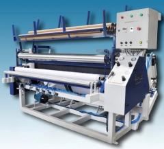 Maquina rebobinadeira de papel higienico