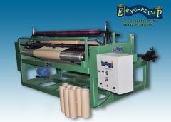 Maquina rebobinadeira industrial