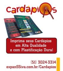 Imprima cardápios com preços e qualidade incríveis! - http://expanssiva.com.br/cardapios