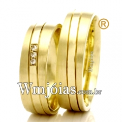 Aliancas de ouro baratas