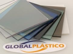 Chapas policarbonato compactas
