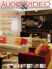 Matéria de capa na revista audio & video