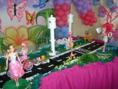 Decoração temática festa infantil - barby