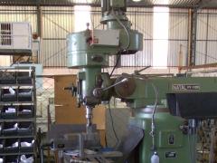Fresadora ferramenteira ff-1100 natal - iso 30