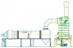 Lavador para secador de açucar