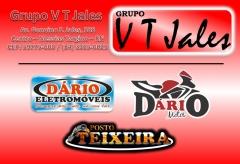 Grupo v t jales (dário eletromoveis, dario motos e posto teixeira)