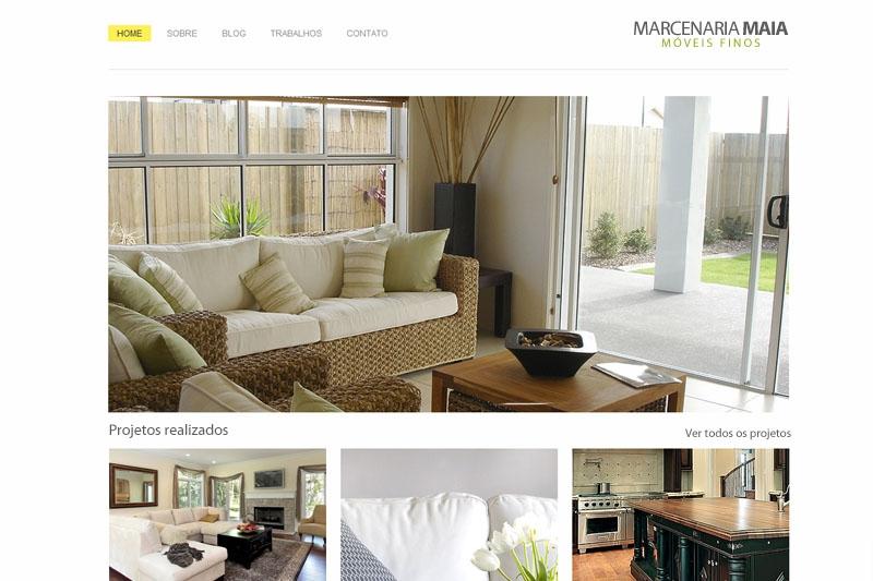 Cliente Maia - Website