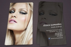 Cliente jéssica guimarães estúdio de beleza - identidade visual