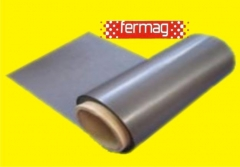 Manta adesivada e neutra para imã de geladeira ou imãs automotivos com qualidade fermag.