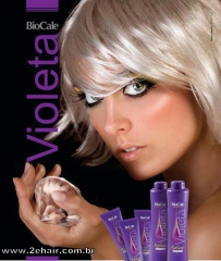 Matizador violeta para platinar seus cabelos!!!! o melhor!