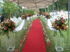 Ornamentação para casamento