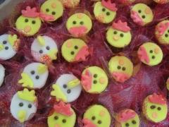 Doces da galinha pintadinha