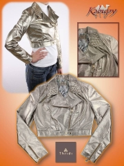 Jaqueta de couro kabupy