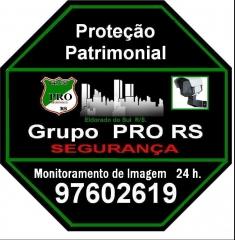 Segurança  grupo pro rs   monitoramento de imagem 24h.