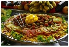 Pratos deliciosos preparados pelos nossos cheffs