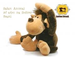 Macaco Leleco Super Fofo