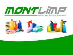 Logomarca criada para Montlimp em Monte Mor/SP
