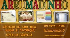 Cartão de Visita empresa Arrumadinho em Paulínia/SP