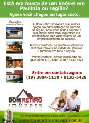 Criação de newsletter Bom Retiro Imóveis em Paulínia/SP