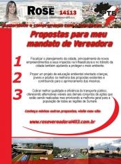 Criação de newsletter para campanha de candidatos a vereador em Sumaré/SP