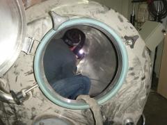 Solda em espaço confinado