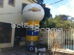 Totem ball inflavel - infláveis promocionais - www.baloespromo.com.br