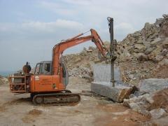 Prd60 temos linhas especiais para pedreiras de granito e para explosão de rocha, consulte