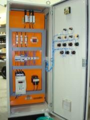 Montagem de painéis elétricos,comandos