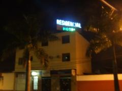 Fachada do residencial hotel