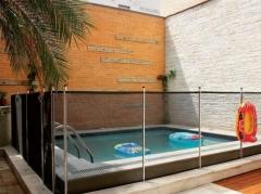 Guardiã proteções redes de proteção, varal, portão e cerca removível para piscina 11 26824664